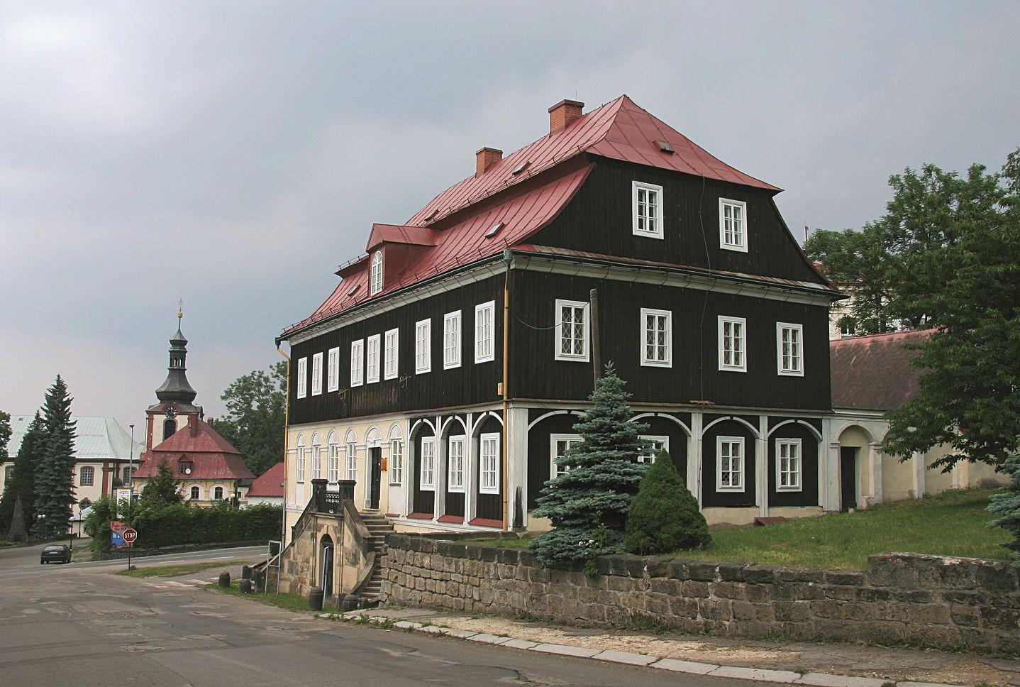 Obrázek v galerii pro Kamenický Šenov (Steinschönau)