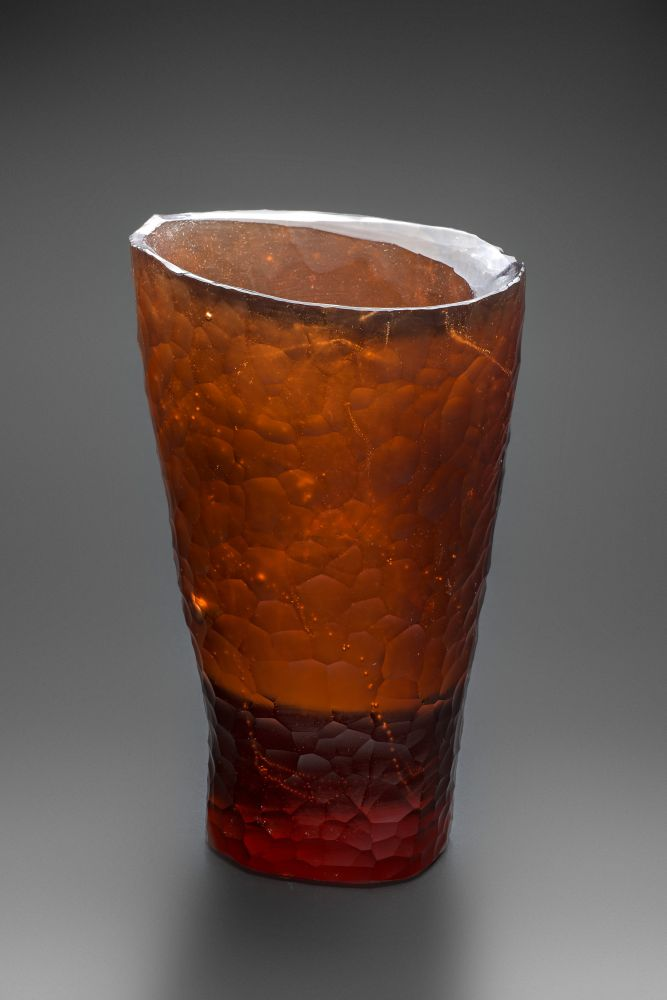 Obrázek v galerii pro MELTED GLASS SCULPTURE