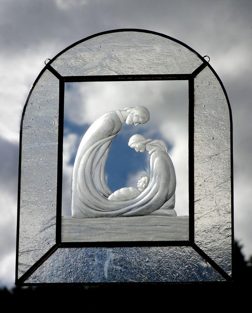 Obrázek v galerii pro Minimuzeum skleněných betlémů