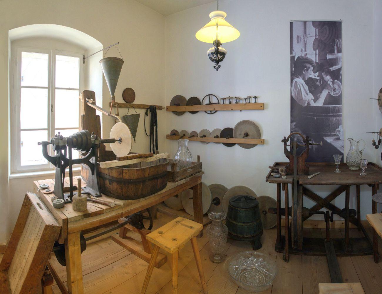 Obrázek v galerii pro Sklářské muzeum Nový Bor