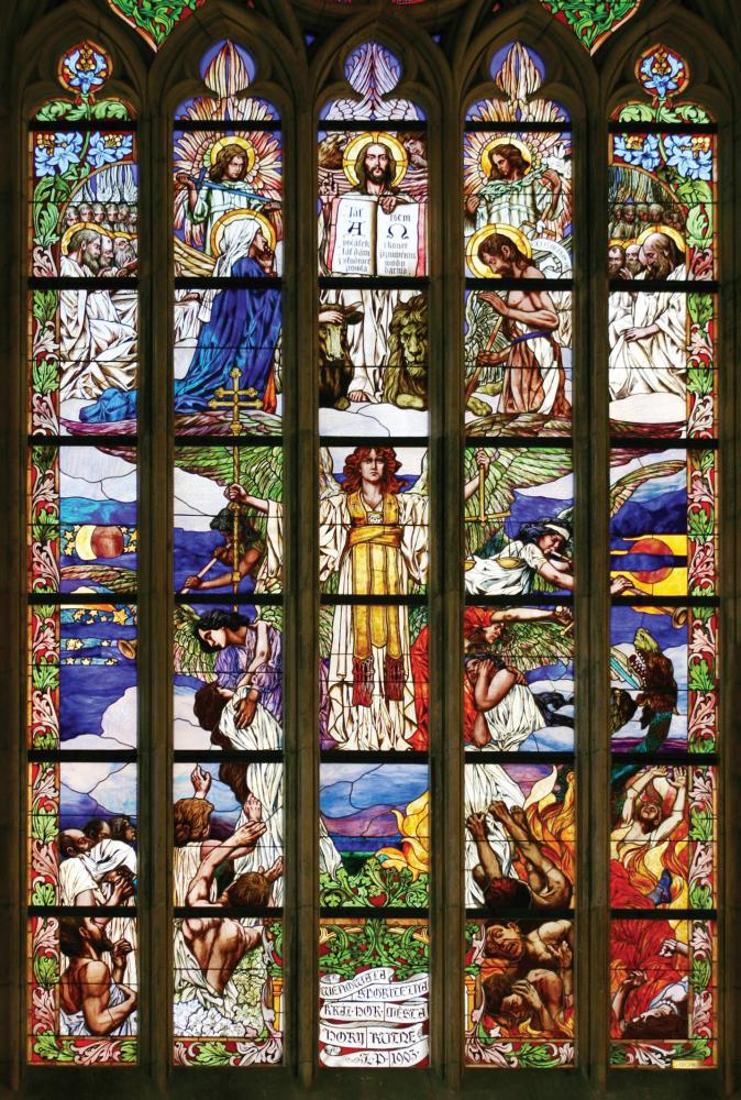 Obrázek v galerii pro Jaroslav Skuhravý - Sklovitráž